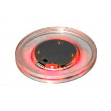 Шайба для аэрохоккея LED «Atomic Lumen-X Laser» (прозрачная, красный светодиод) D65 mm