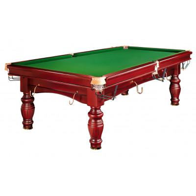 Бильярдный стол для русского бильярда «Refinement» 8 ф (4 ноги, махагон)