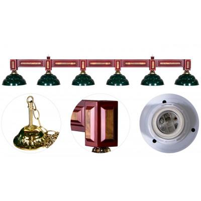 """Лампа на шесть плафонов """""""