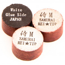 Наклейка для кия «Rei Samurai White» (M) 14 мм