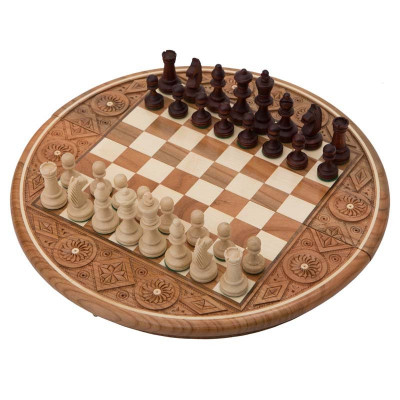 Шахматы Рубин темные, Madon