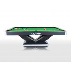 Бильярдный стол для пула «Victory II Plus» 9 ф (черный)