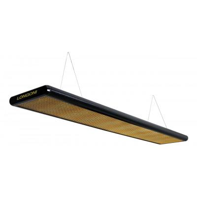Лампа плоская «Nautilus» (черная) пирамида 320x31x6