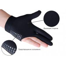 Перчатка бильярдная «WB» (черная), защита от скольжения