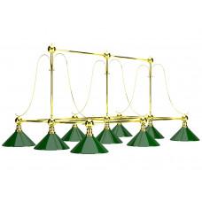 Лампа на девять плафонов &quot