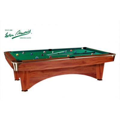 """Бильярдный стол для пула """"Dynamic III"""" 9 ф (коричневый)"""