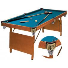 Бильярдный стол для пула «Hobby» 6 ф (в комплекте)