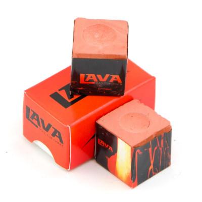 Мел «Lava» (2 шт) красный