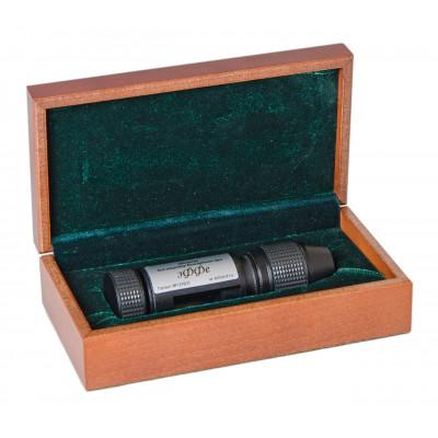 Точилка «Эффе» (черная, металл) в подарочной коробке