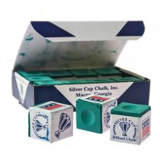 Мел «Silver Cup» (12 шт) зеленый