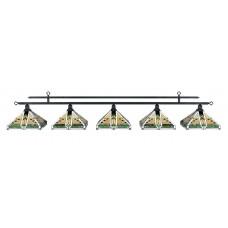 Лампа на пять плафонов &quot