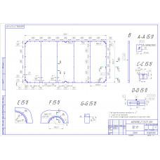 Плита «Standard-Quality» 10 ф (38 мм, 5-pc) пирамида / снукер