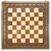 Доска шахматная резная Лотос 40  Haleyan