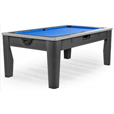 Многофункциональный игровой стол 6 в 1 «Tornado» (темно-серый)