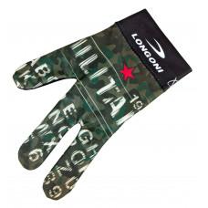 Перчатка бильярдная «Longoni Fancy Military 2»