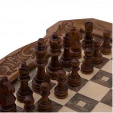 Шахматы резные в ларце 40, Avetyan