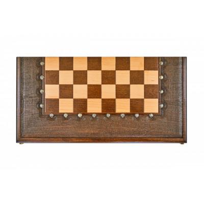 Шахматы + нарды резные Гамбит 1 50, Simonyan