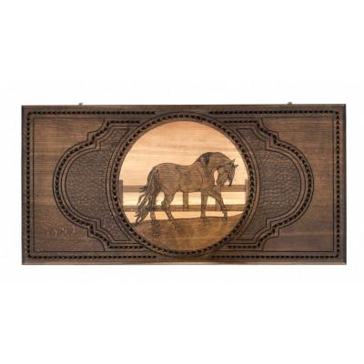 Нарды резные Лошадь 2 60, Zakaryan