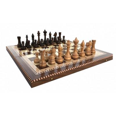 Шахматы Турнирные 4 инкрустация 50  Armenakyan