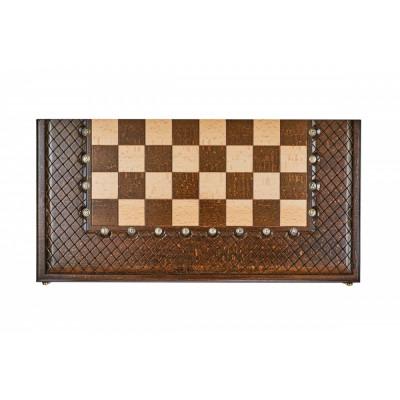 Шахматы + нарды резные Эндшпиль 1 50, Simonyan
