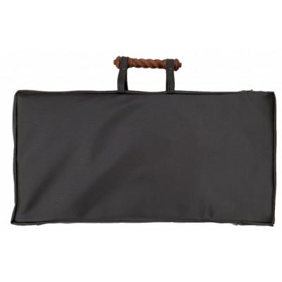 Чехол кожаный с ручкой для средних нард 50, Mhitaryan