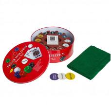Набор для покера Holdem Light на 240 фишек с номиналом