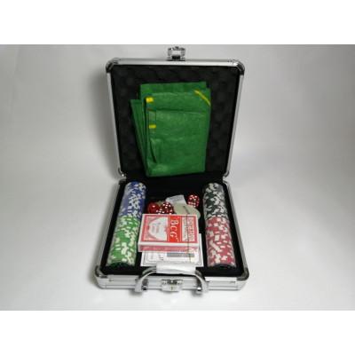 Набор для покера Ultimate на 100 фишек с пластиковыми картами