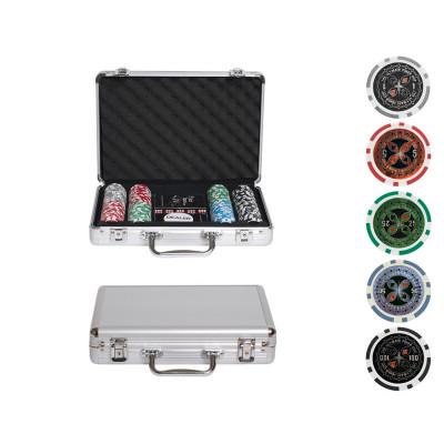 Набор для покера Ultimate на 200 фишек с пластиковыми картами
