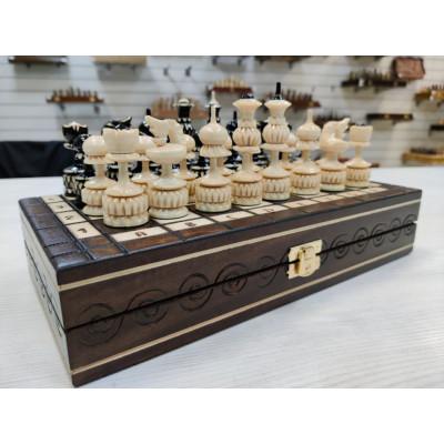 Шахматы резные Точенка малые