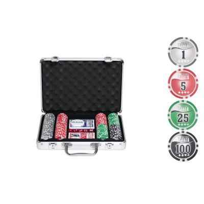 Набор для покера NUTS на 200 фишек с пластиковыми картами