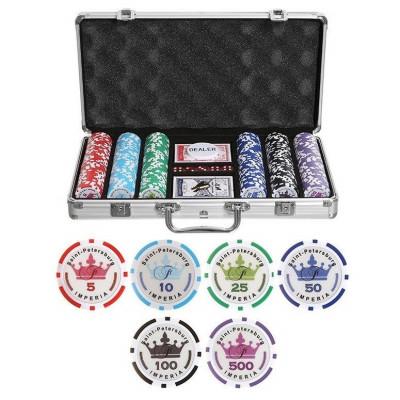 Набор для покера Empire на 300 фишек с пластиковыми картами