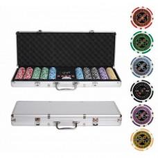 Набор для покера Ultimate на 500 фишек с пластиковыми картами