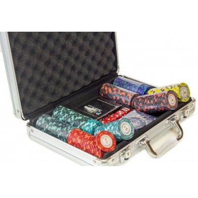 Набор для покера Monte Carlo на 200 фишек