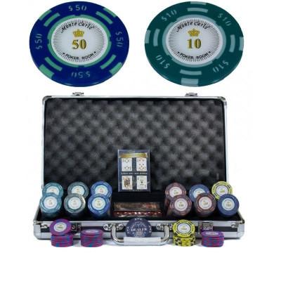 Набор для игры в покер Monte Carlo на 300 фишек