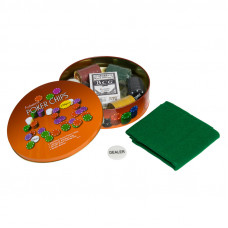 Набор для покера Holdem Light на 120 фишек с номиналом